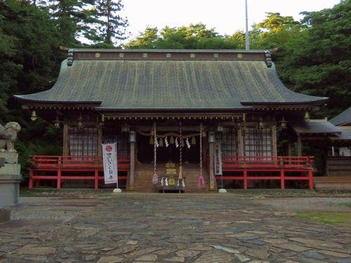 唐桑半島御崎神社3拝殿
