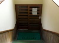 蔵王温泉源七露天の湯4浴場入口階段