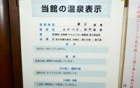 蔵王温泉源七露天の湯10温泉表示