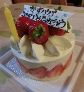 かずパパのケーキ