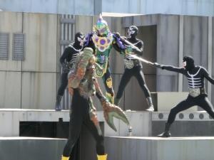仮面ライダーのショー