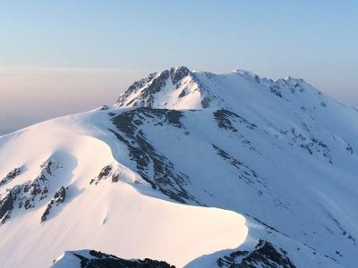 別山より立山への縦走路