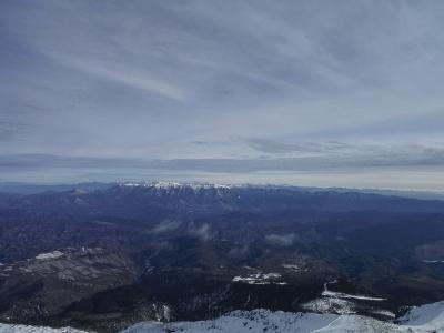 ⑭富士山を遠望