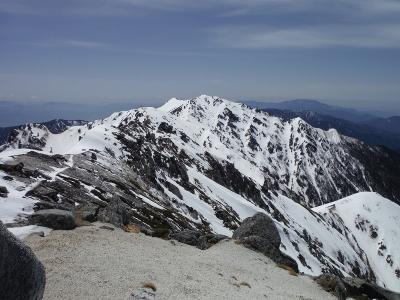 ⑰南駒ヶ岳