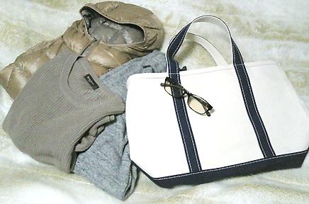 3月には「L.L.Bean」のバッグを合わせてこんなカジュアルコーデがしたいです