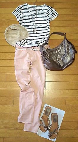 再びピンクパンツを穿きました