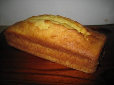 チーズ入りパウンドケーキ 焼き上がり