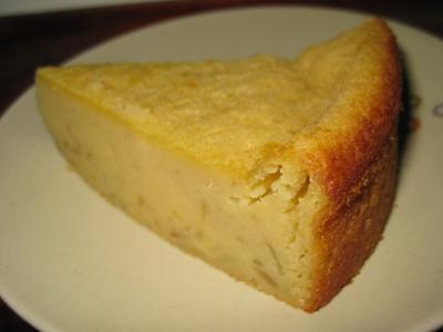 スイートポテトケーキ カット
