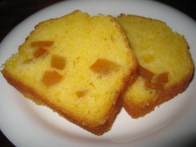 みかんのケーキ カット