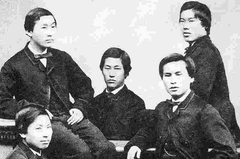 薩摩藩第二次米国留学生 - Japan...