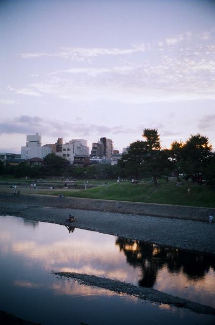 水辺風景/夕刻