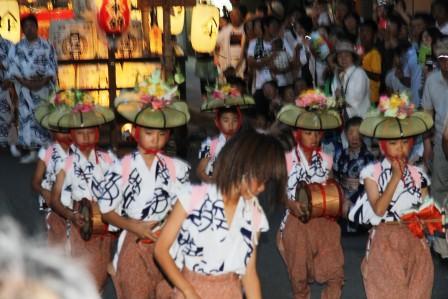 四条傘鉾の棒振り踊り_H26.07.15撮影
