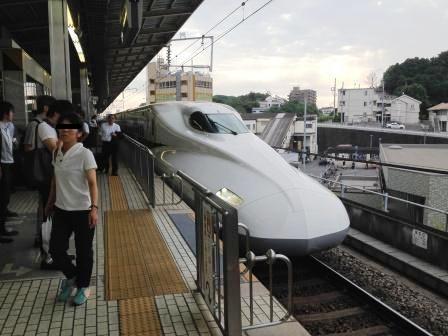 新大阪行・のぞみ5号_H26.07.15撮影