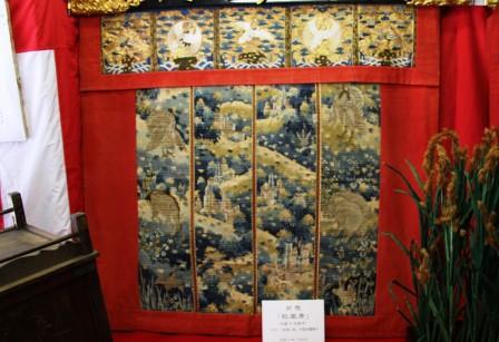 芦刈山の懸装品_H26.07.16撮影