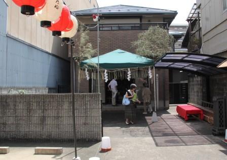 展示の行われている住宅_H26.07.16撮影