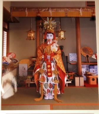長刀鉾の稚児_H26.07.16撮影