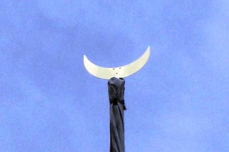 月鉾の鉾頭_H26.07.16撮影