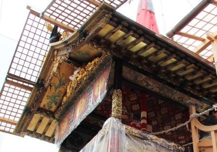 月鉾の屋根_H26.07.16撮影