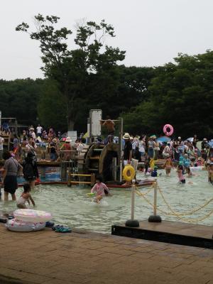 アンデルセン公園_水遊び