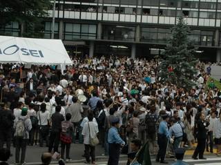 2006年6月15日の法政大学