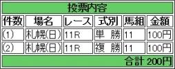 20140824 札幌記念 ラブイズブーシェ