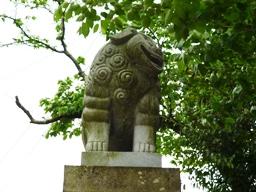 日尾八幡神社狛犬2