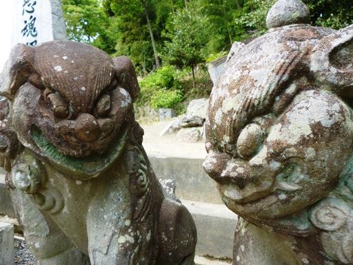日尾八幡神社狛犬4