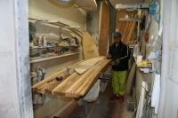 2014 レッドウッドボード造り 4
