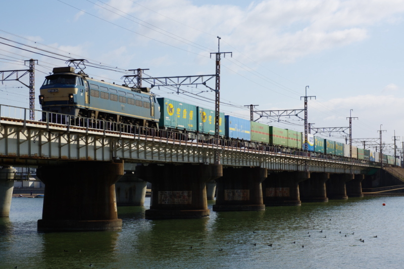 EF66 24 瀬田川
