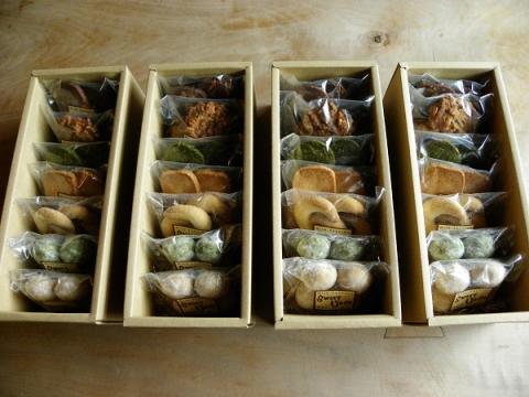 焼き菓子7種類詰め合わせ 中身