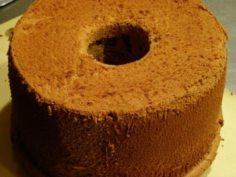 カフェオレシフォンケーキ