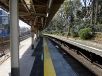 JR原宿駅臨時ホーム