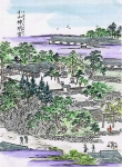 江戸名所図会の小山神明宮