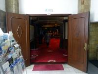 旧議場入口(現・大会議室)