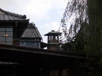 蔵造り資料館から見る「時の鐘」