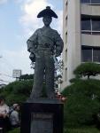市役所前の太田道灌像
