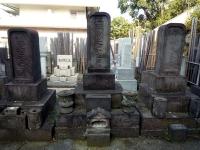 荻生徂徠墓石