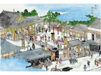 江戸名所図絵の魚藍寺