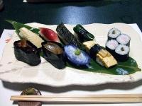 創作漬物寿司