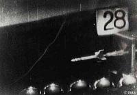 ペンシルロケット発射実験
