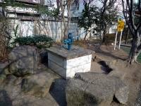 園内にある井戸