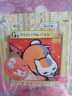 一番くじ時の記憶G賞 (1)