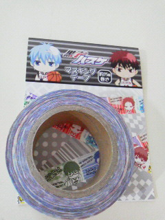 黒子のバスケマスキングテープ (1)