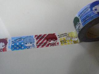 黒子のバスケマスキングテープ (2)