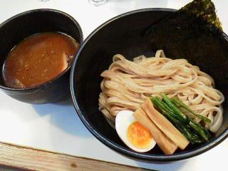 ベジボタつけ麺 (1)