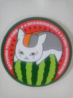 LaLa8月号付録ニャンコ先生サマーコースター (4)