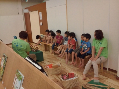 20140704⑤エキナカえんそく 六郷保育園