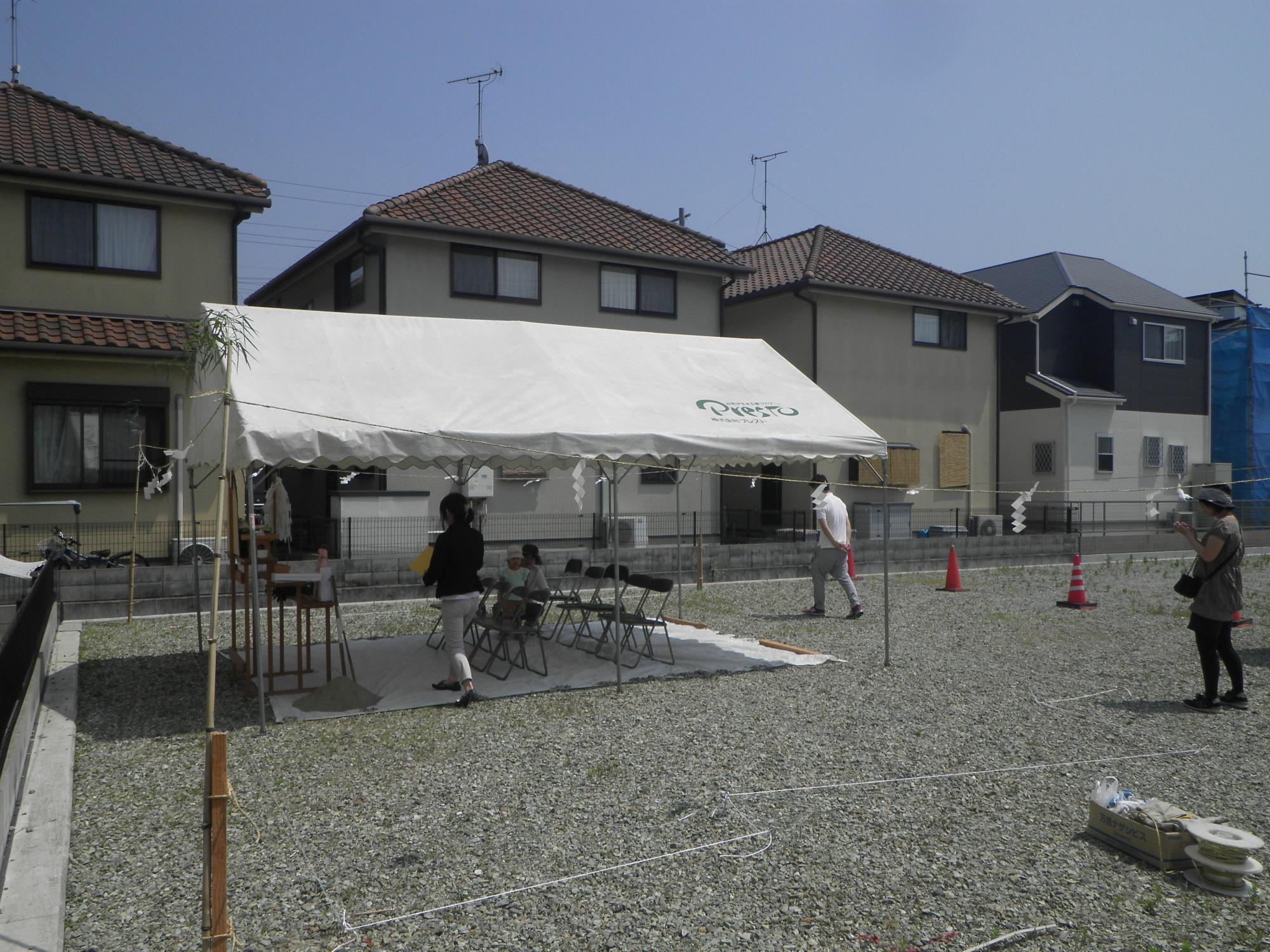和田邸 地鎮祭2