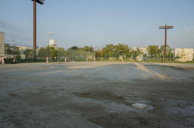 草野球 8試合目 - のんびり写真...