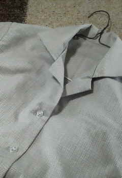 開襟シャツ2